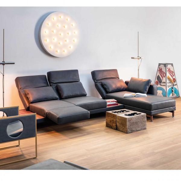brühl moule-medium - Sofa Sitzgruppe 70128 + 70131 + Ablage