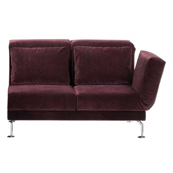 brühl moule-medium - Anstellsofa 70123 2-Sitzer Drehsitz rechts
