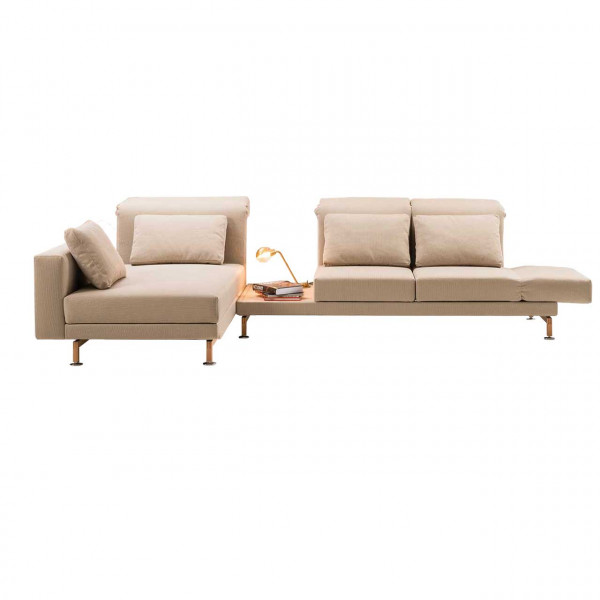 brühl moule-small - Sofa Sitzgruppe 70238 + 70229 + Ablage