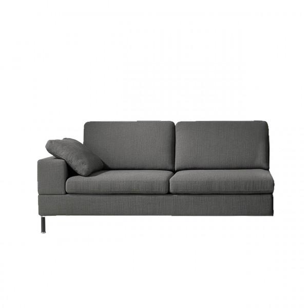 brühl alba 55/70 - Anstellsofa-2+Sitztiefenverstellung links 67616