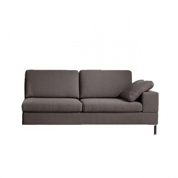 brühl alba system/m - Anstellsofa-2 W2 - 55 cm Sitztiefe