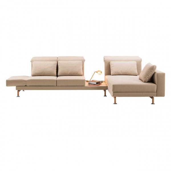 brühl moule-small - Sofa Sitzgruppe 70228 + 70239 + Ablage
