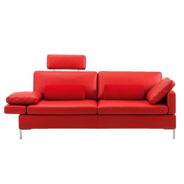 brühl alba 55/70 - Sofa-2.5 mit Sitztiefenverstellung 67608