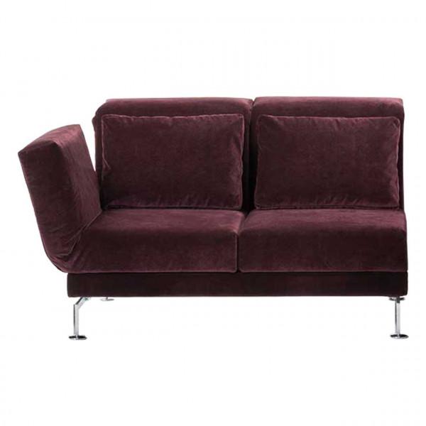 brühl moule-medium - Anstellsofa 70122 2-Sitzer Drehsitz links