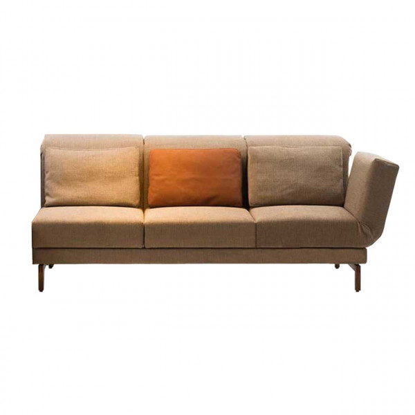 brühl moule-medium - Anstellsofa 70127 3-Sitzer Drehsitz rechts