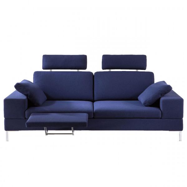 brühl alba 55/70 - Sofa-3 mit Sitztiefenverstellung 67610