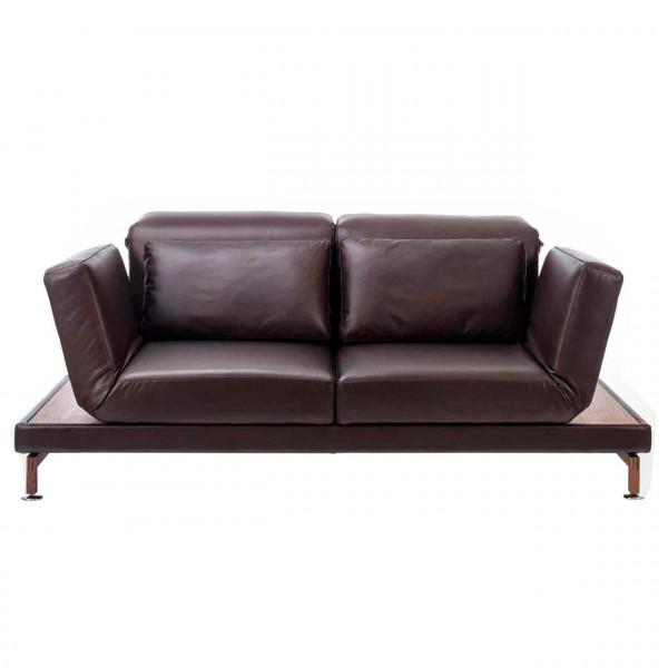 brühl moule-small - Sofa 70207 2-Sitzer mit Drehsitzen + Ablage