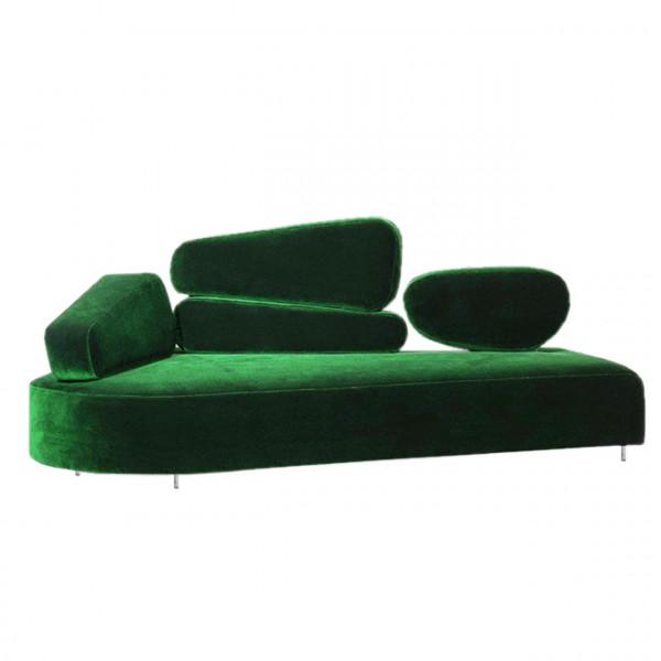 brühl mosspink - Sofa links 56390