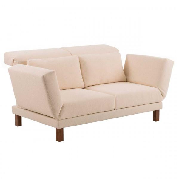 brühl moule-small - Sofa 70206 2-Sitzer mit Drehsitzen